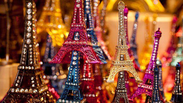 2012,法国巴黎纪念品