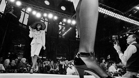 France, Paris, 1986, Ungaro Fashion Show