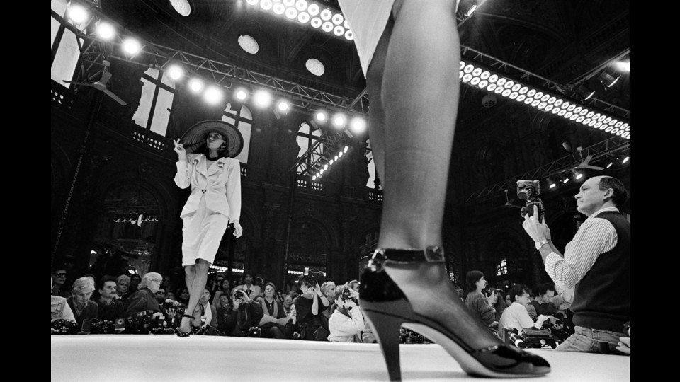 France, Paris, 1986, Ungaro Fashion Showby A. Abbas