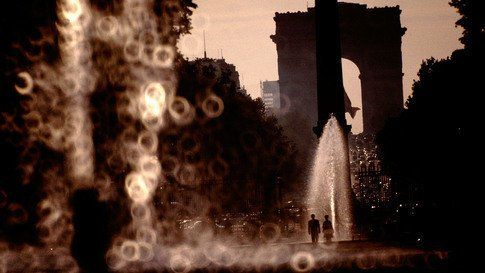 France, Paris, 1966, l'Arc de Triomphe