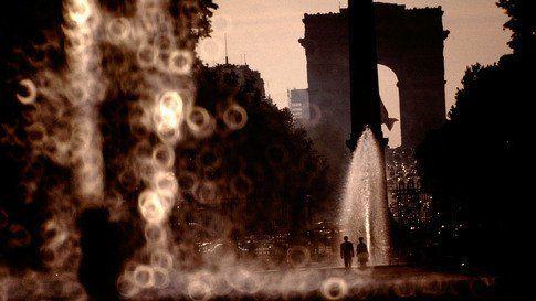 France, Paris, 1966, l'Arc de Triomphe