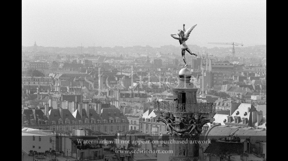 France, Paris, 1989, The Bastille Opera House by Rene Burri