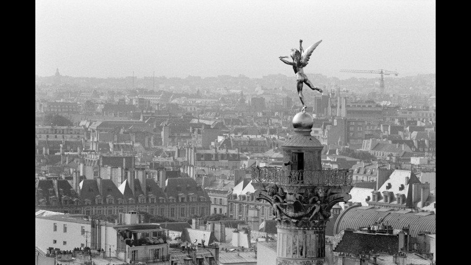 France, Paris, 1989, The Bastille Opera Houseby Rene Burri