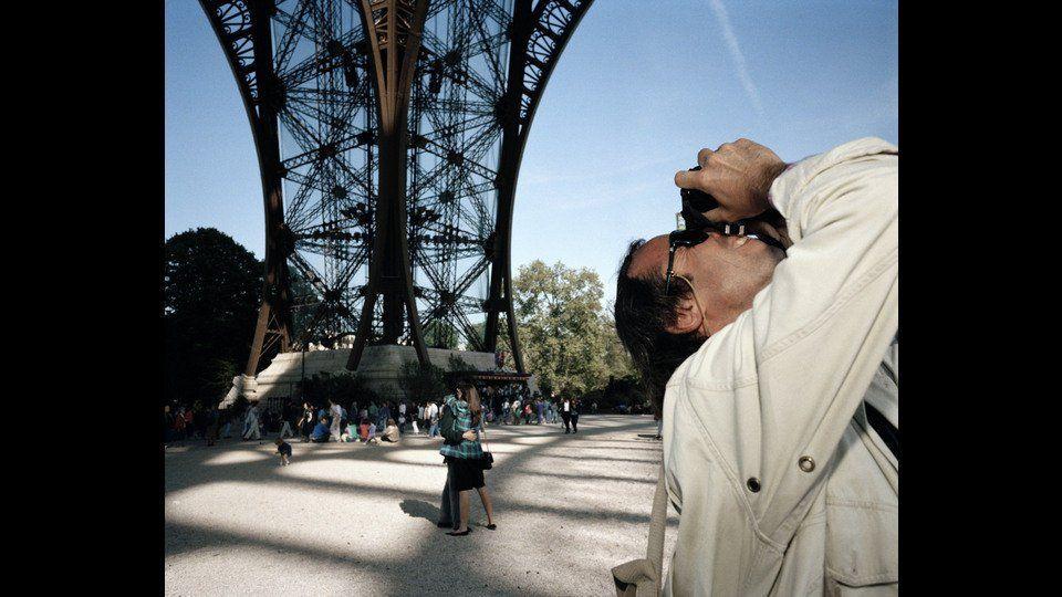 France, Paris, 1989, Underneath the Eiffel Towerby Martin Parr