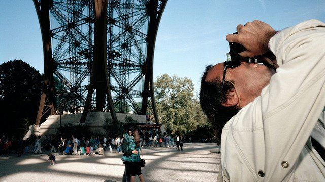France, Paris, 1989, Underneath the Eiffel Tower