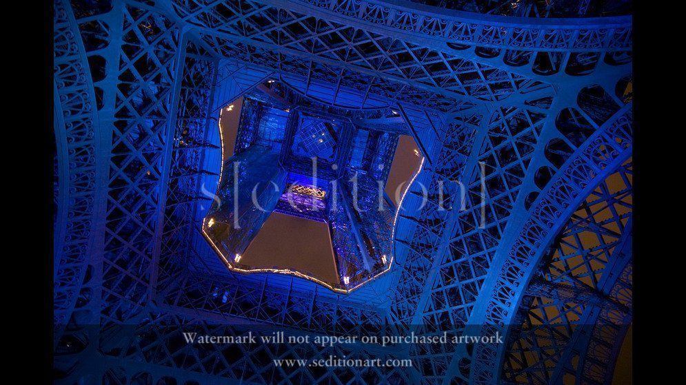 France, Paris, 2008, The Eiffel Tower by Peter Marlow
