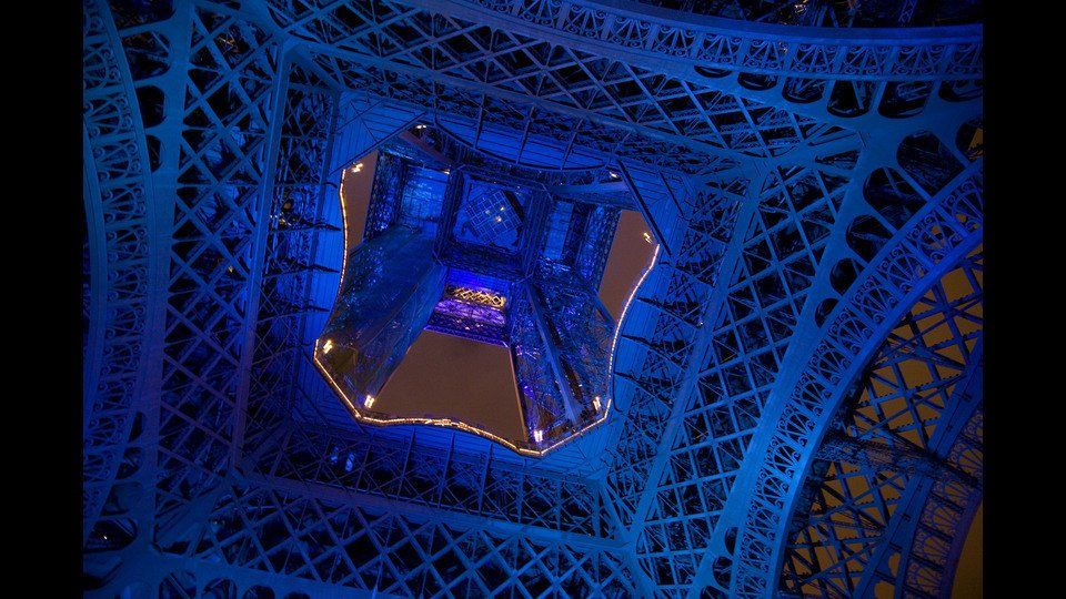 France, Paris, 2008, The Eiffel Towerby Peter Marlow