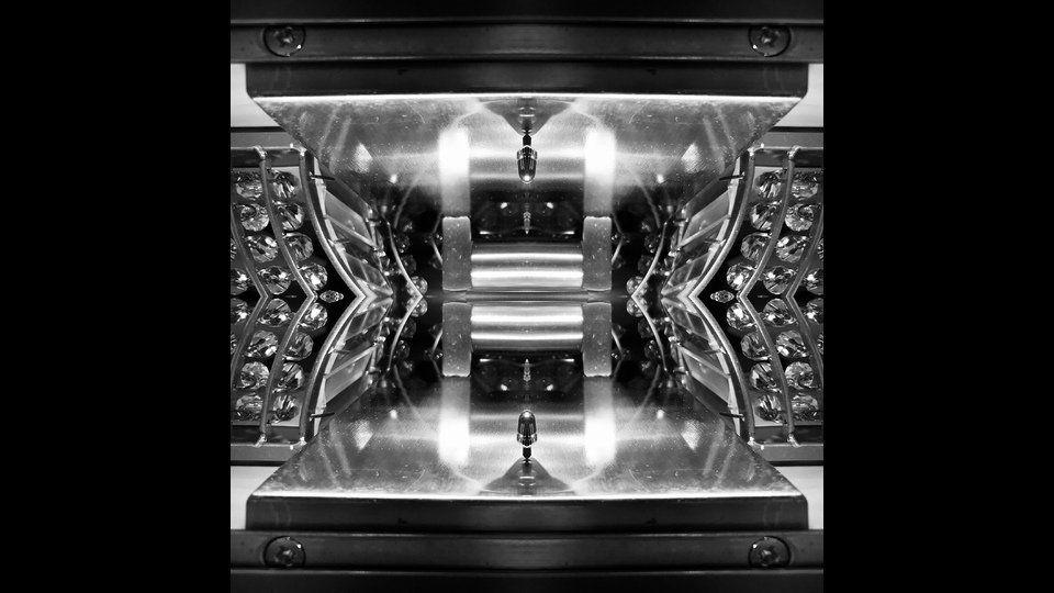 mirrored lightsby A. Litel