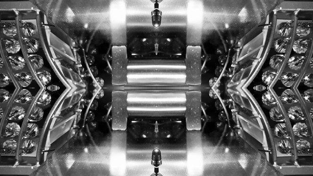 mirrored lights