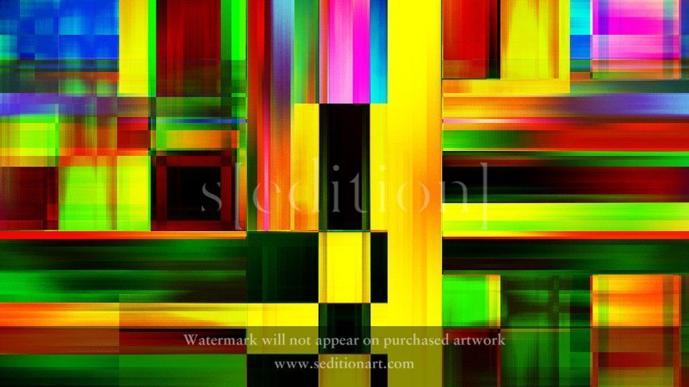 Colourful Abstracts SEDDX0004 by Sujith Ittan