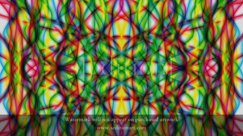 Colourful Abstracts SEDDX0010 by Sujith Ittan