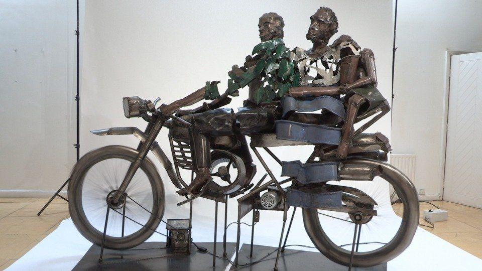 Bike 2000by Sokari Douglas Camp