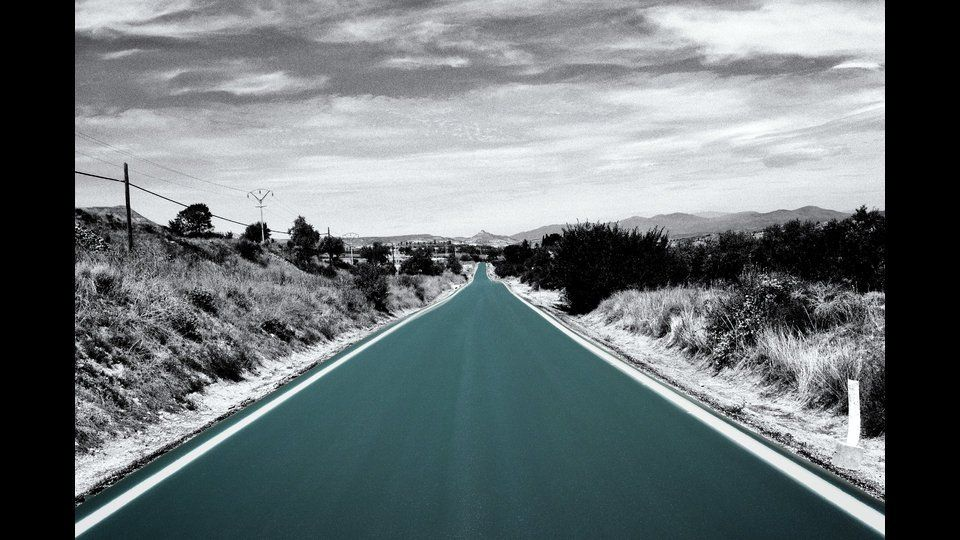 The road.by David Valdés