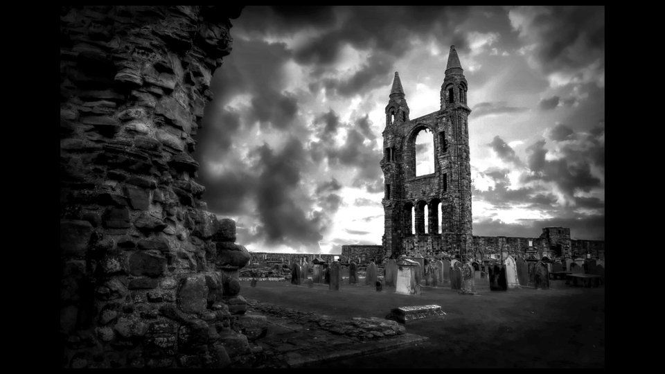 Ruins of St Andrewby Clint M Crawford