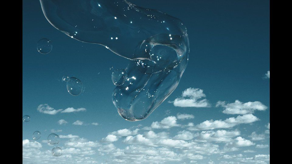 Soapbubble Studies // Blue Sky Moroccoby Marlies Plank