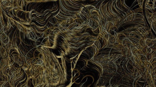 Flow Field #2 - Reinterpreting Sunflowers by Vincent Van Gogh