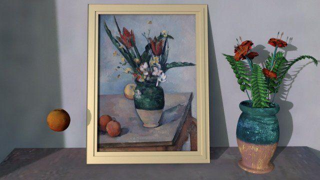 Cézanne's Tulips