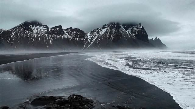 Vestrahorn, Islanda