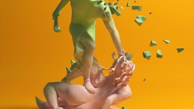 Breaking The Spell (Perseus Beheading Medusa)