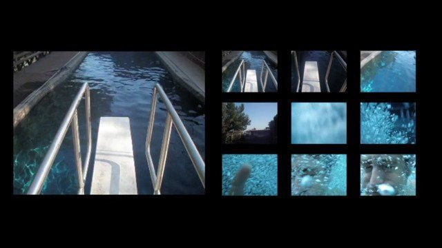 Moving Stills #2 - diving board swimming pool