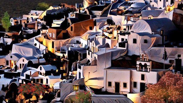 greece santorini island Dream