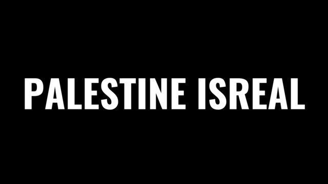 Palestine Isreal