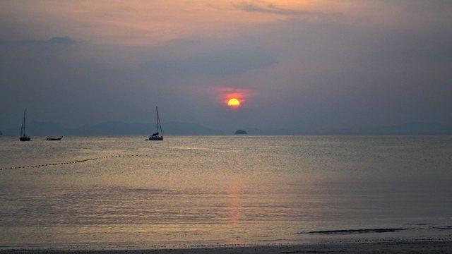 Beach n sunset