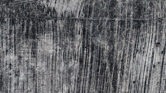 Rough black and grey surface