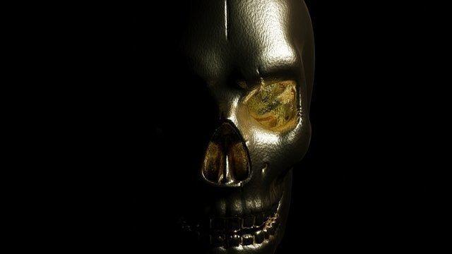Skull Gold #2