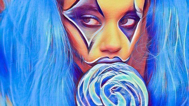 Blue Lolipop