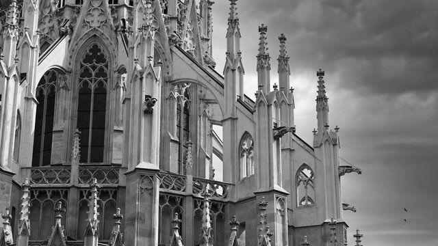 Votive Church (Votivekirche) facade exterior