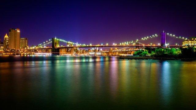 Brooklyn Bridge Supersat
