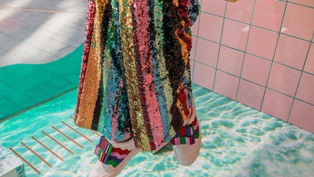 Rainbow Sequins